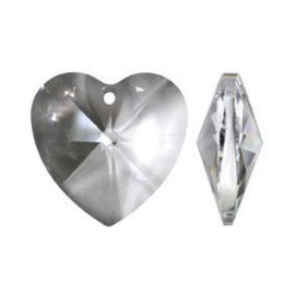 Clear Heart Crystal