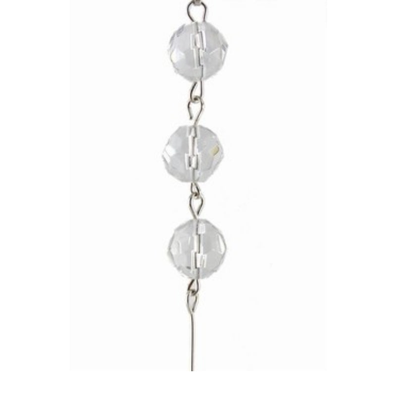 Clear Crystal Mini Chandelier Chains