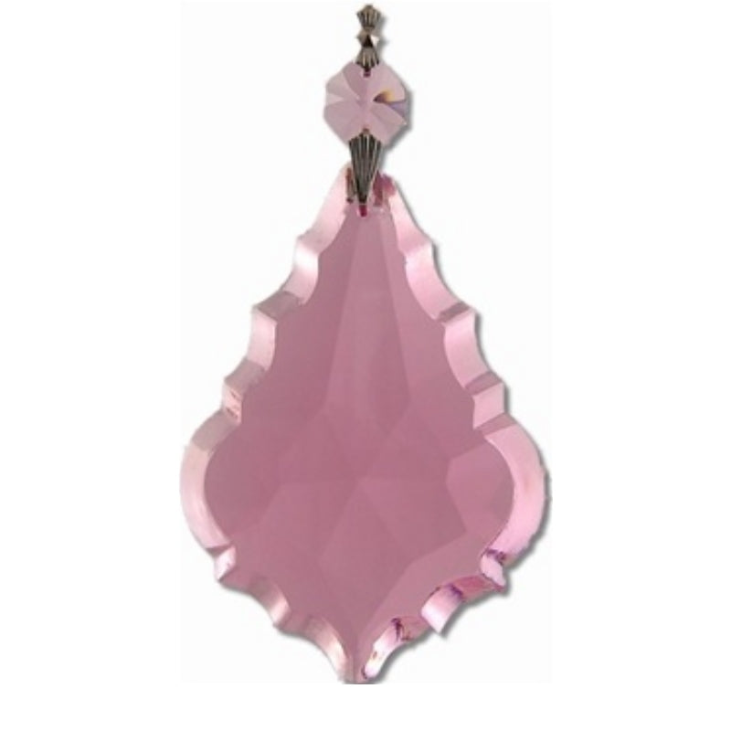 pink chandelier prisms cheap