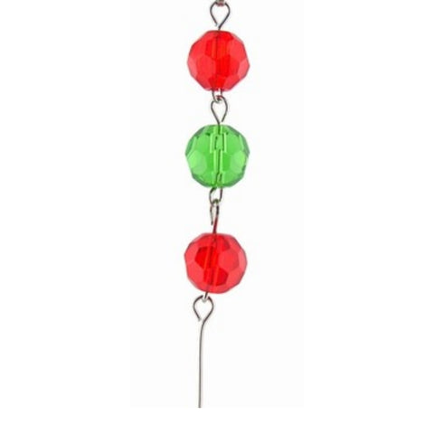 Red & Green Crystal Mini Chandelier Chains