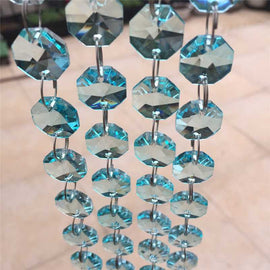 turquoise replacement chandelier crystal strands