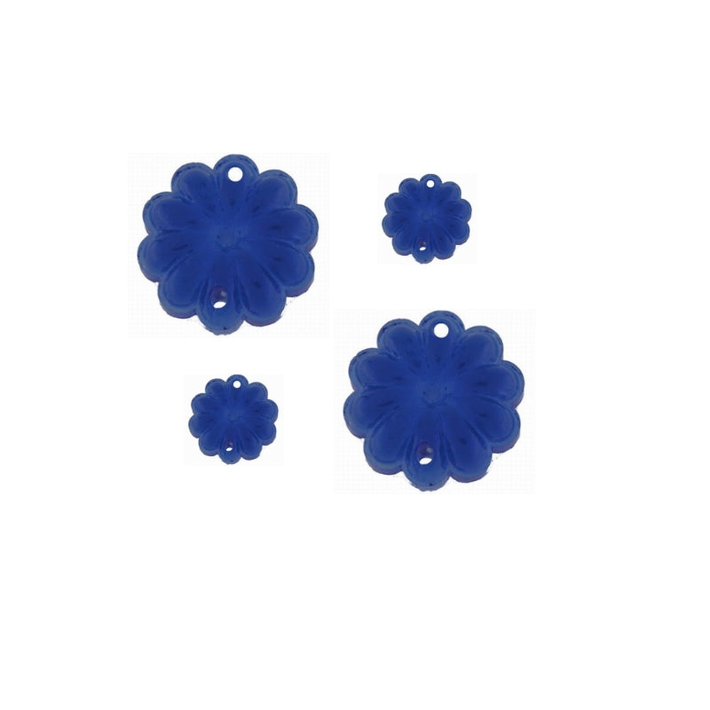 blue beads for chandelier prisms