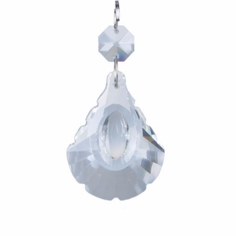 clear chandelier replacement crystals - easy to hang crystals