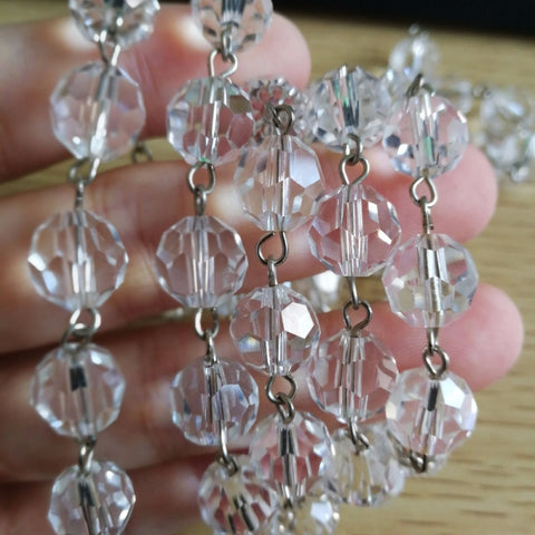 chandelier crystal replacement parts
