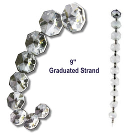 mini graduated crystal strands