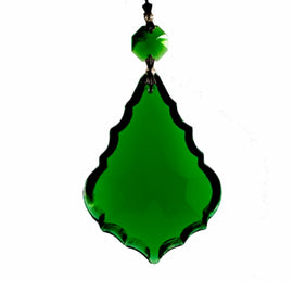 buy chandelier replacement crystal prism green french