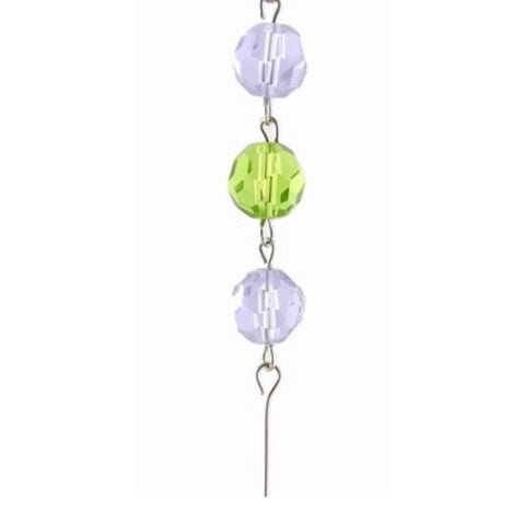 Purple & Green Crystal Mini Chandelier Chains