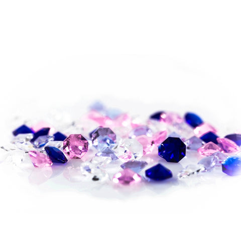 multicolored chandelier crystal diamonds