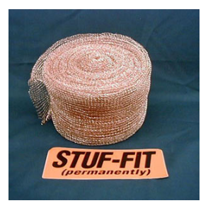 Stuf-fit Copper Netting 100FT/RL