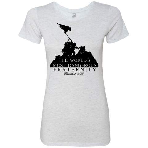 Dangerous Fraternity (Super Soft) Next Level Ladies' Triblend T-Shirt