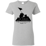 Dangerous Fraternity  Gildan Ladies' 5.3 oz. T-Shirt