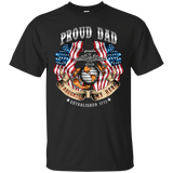Proud Dad (My Daughter My Hero)  Short Sleeve Shirt