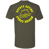 "Bulldog Vintage Double Sided ""Reverse""  T-shirt"