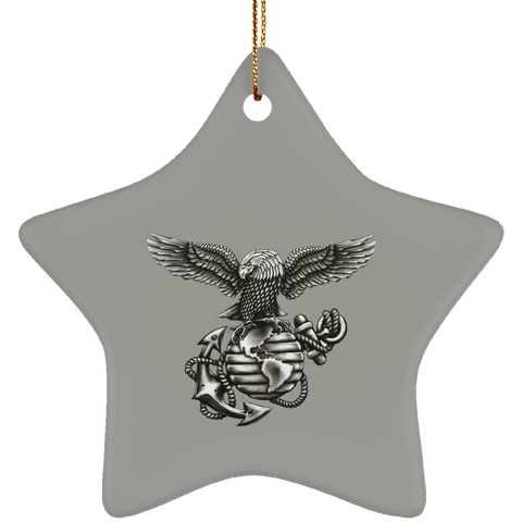 Ceramic Star Christmas  Ornament  (Blackout Collection)