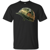 Full Metal Jacket Born To Kill/Peace Button Helmet Ultra Cotton T-Shirt