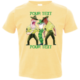 TODDLER- DI vs Recruit (Funny/Cute) PERSONALIZED T-shirt (Style 1)