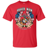 Proud Mom (My Daughter My Hero) Short Sleeve Shirt