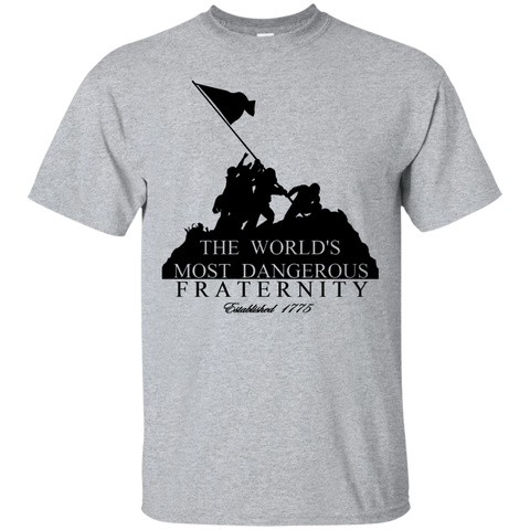"""The World's Most Dangerous Fraternity""  Short Sleeve T-Shirt"