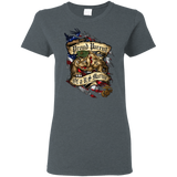 Proud Parent of a U.S. Marine Bulldog  Gildan Ladies' T-Shirt