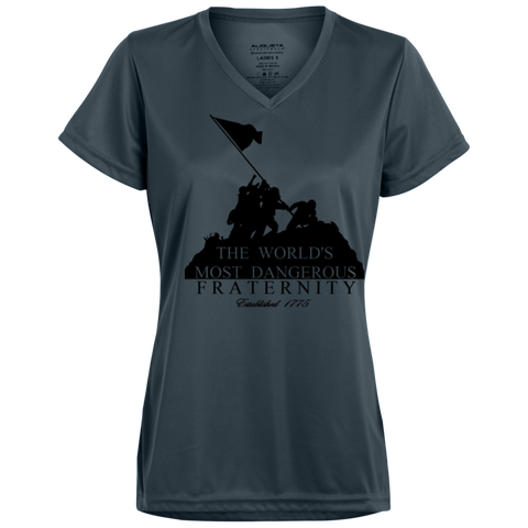 Dangerous Fraternity  Performance Moisture Wicking Ladies'T-Shirt