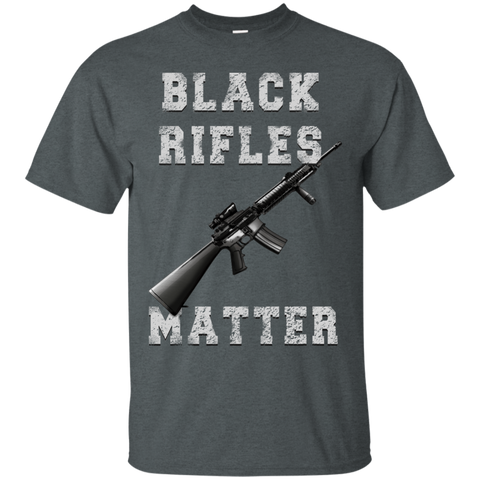 BLACK RIFLES MATTER  Gildan Men's Shirt