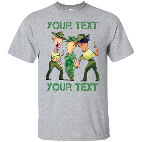 PERSONALIZED FEMALE RECRUIT SHIRT