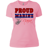 "Proud Marine NANA Premium (Super Soft)  Ladies' Cut ""Boyfriend"" T-Shirt"