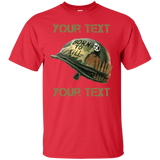 Fully Personalized FMJ  Born To Kill Helmet T-shirt