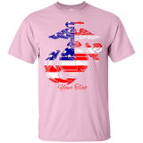 PRIDE OF A NATION Fully Personalized Unisex Crew Neck T-Shirt