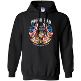 Proud Dad (My Son/My Hero) Pullover Hoodie