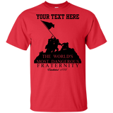 "YOUTH- Fully Personalized ""Dangerous Fraternity""  Cotton T-Shirt"