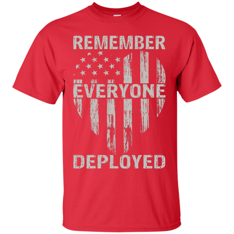 RED Friday (Heart/Flag))   V-neck/Crew Neck Shirt