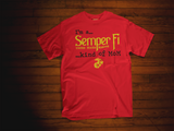 Semper Fi Kind of MoM  (T-shirts and Tank Tops) (PRE-SALE)