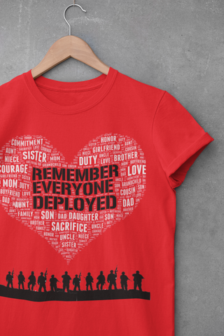 RED FRIDAY  (Heart/Relationship Shirt)  Presale Campaign