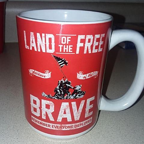 REMEMBER EVERYONE DEPLOYED Large 15 oz Coffee Mug