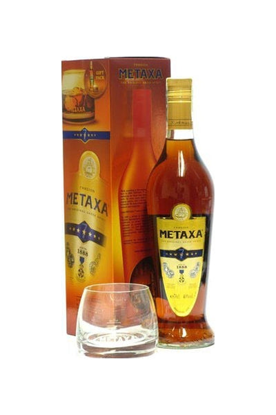 Metaxa Gold Label Seven Star