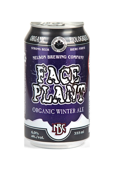 Nelson Brewing Company Faceplant