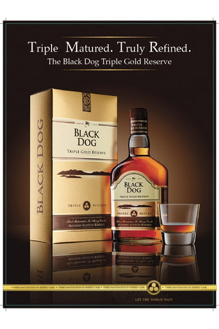 Black Dog - Triple Gold Reserve