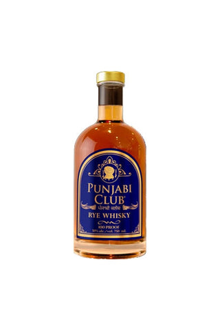 Punjabi Club Rye Whisky 750 ml
