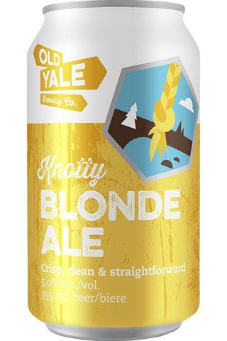Old Yale Knotty Blonde Cans