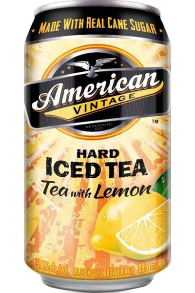 American Vintage Hard Iced Tea Lemon 6Pk