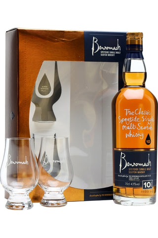 Benromach 10 With Glass