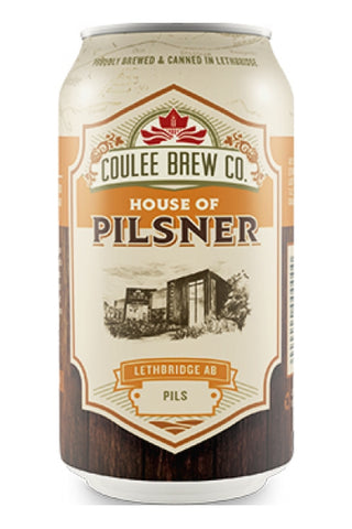 Coulee Brew Co. House Of Pilsner Cls