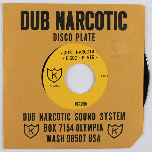 "Dub Narcotic Sound System ‎– Shake-A-Puddin', Front Side 7"" Cover"