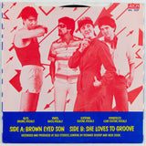 The Waves ‎– Brown Eyed Son, Back Album Cover
