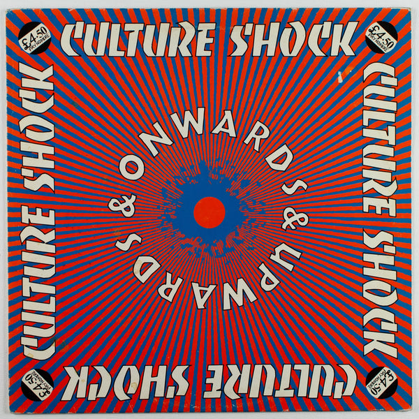 Culture Shock ‎– Onwards & Upwards, Front Album Cover