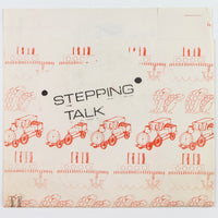 Stepping Talk – Alice In Sunderland - Front Vinyl Cover