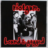 Riotgun – Bound & Gagged, Front Cover