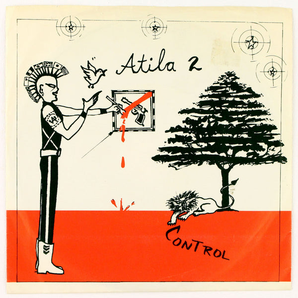 Atila - Control, Album Cover Side 1