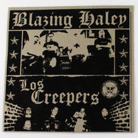 Blazing Haley / Los Creepers – Self-titled, Album Cover Side 1